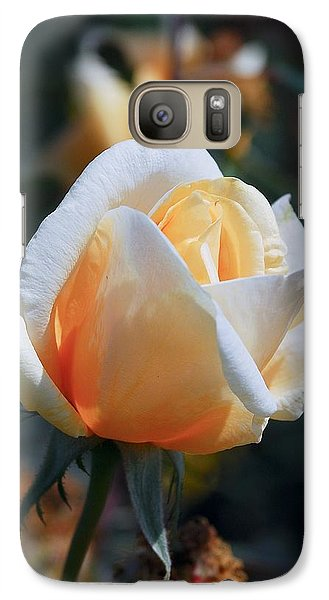 Galaxy Case featuring the photograph The Rose by Fotosas Photography
