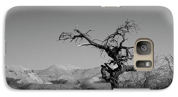 Galaxy Case featuring the photograph The Running Tree by Arik Baltinester