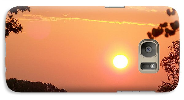 Galaxy Case featuring the photograph The Setting Sun by Robin Regan
