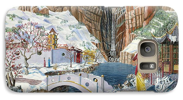 Galaxy Case featuring the painting The Snow Princess by Anthony Lyon