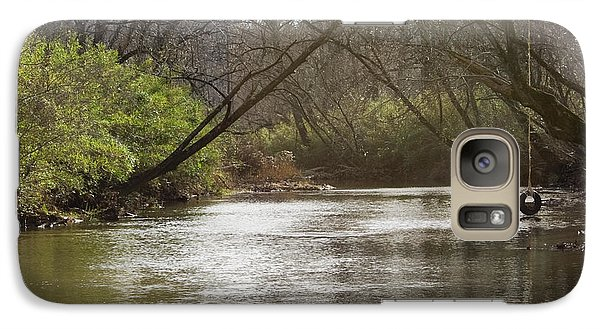 Galaxy Case featuring the photograph The Swimming Hole by Michael Waters