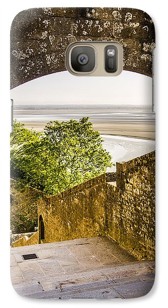 Galaxy Case featuring the photograph The View by Marta Cavazos-Hernandez