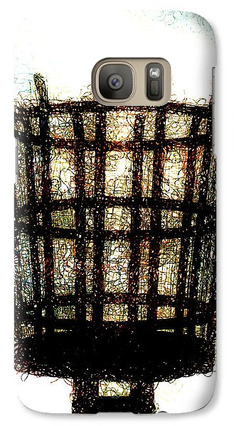 Galaxy Case featuring the digital art The Viking Flame  by Steve Taylor