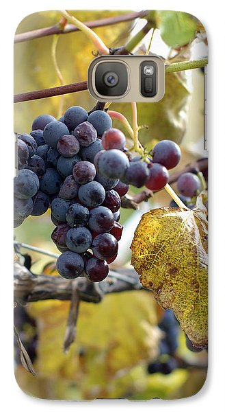 Galaxy Case featuring the photograph The Vineyard by Linda Mishler