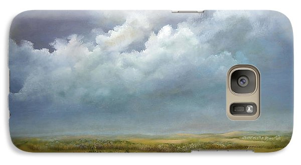 Galaxy Case featuring the painting The Wheat Field by Luczay
