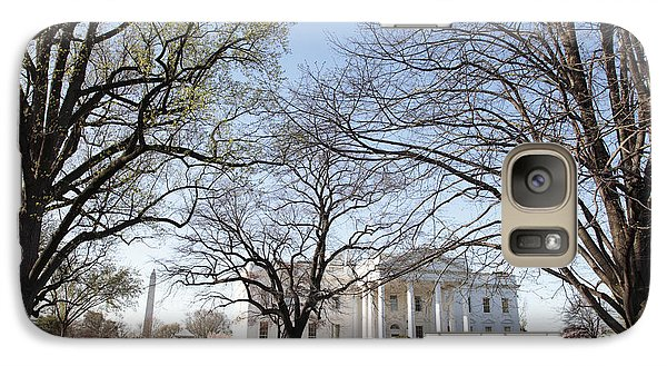 Whitehouse Galaxy S7 Case - The White House And Lawns by Neil Overy