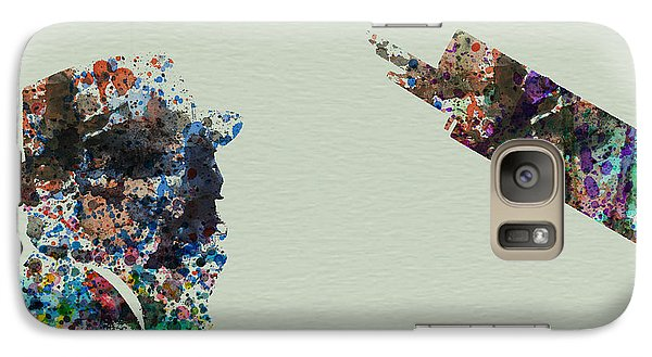 Saxophone Galaxy S7 Case - Thelonious Monk by Naxart Studio