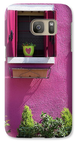 Galaxy Case featuring the photograph Think Pink by Raffaella Lunelli