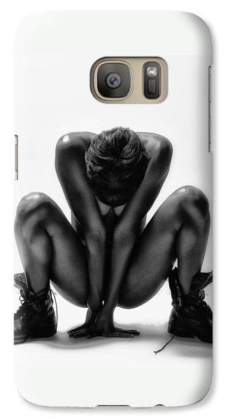 Galaxy Case featuring the photograph This Woman's Work by Angelique Olin