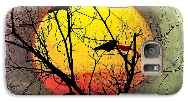 Three Blackbirds Galaxy Case by Bill Cannon