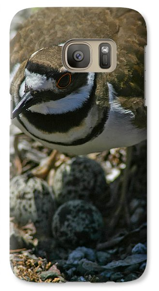 Galaxy Case featuring the photograph Three Eggs. by Mitch Shindelbower
