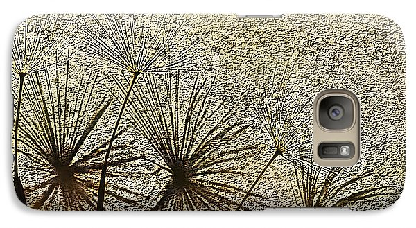 Galaxy Case featuring the digital art Three Wishes by Artist and Photographer Laura Wrede