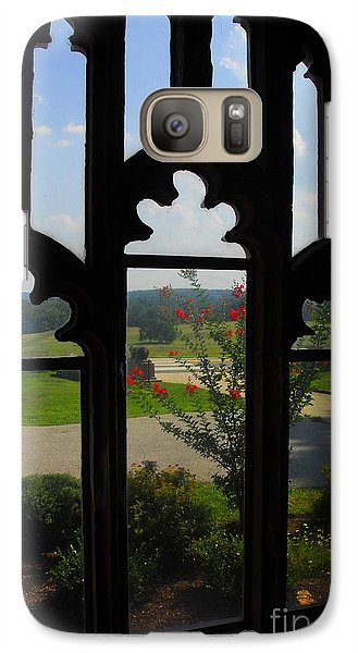 Galaxy Case featuring the photograph Through The Chapel Arches by Cindy Manero