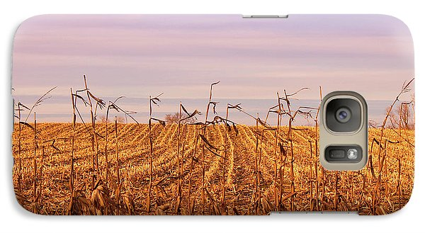 Galaxy Case featuring the photograph Through The Cornfield by Rachel Cohen