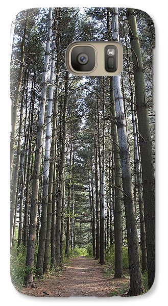 Galaxy Case featuring the photograph Through The Woods by Jeannette Hunt