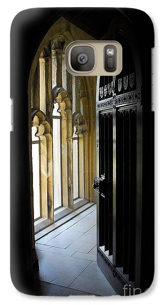 Galaxy Case featuring the photograph Thru The Chapel Door by Cindy Manero