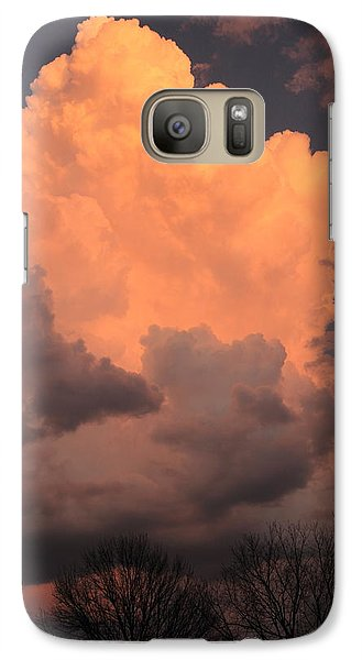 Galaxy Case featuring the photograph Thunderhead In Twilight by Scott Rackers