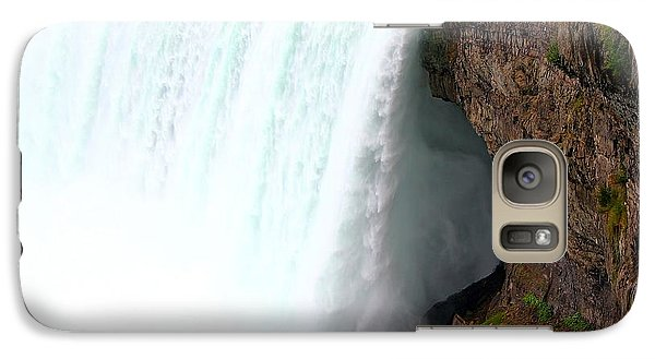 Galaxy Case featuring the photograph Thundering Force by Davandra Cribbie