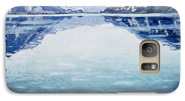 Mountain Galaxy S7 Case - Thunersee Von Leissigen by Ferdinand Hodler