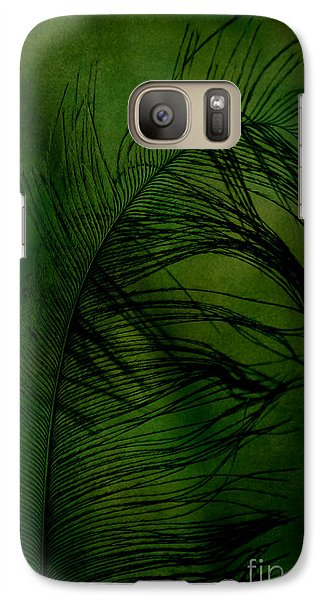Galaxy Case featuring the photograph Tickled Green by Robin Dickinson