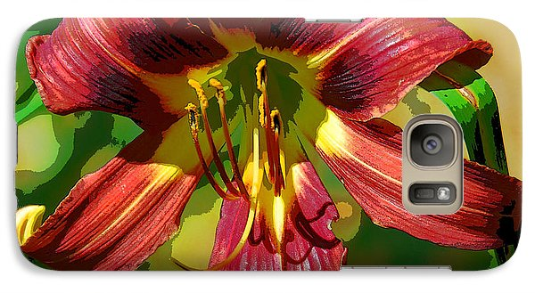 Galaxy Case featuring the photograph Tiger Lily by Cindy Manero