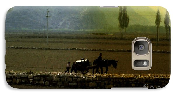 Galaxy Case featuring the photograph 'til The Day Is Done by Lydia Holly