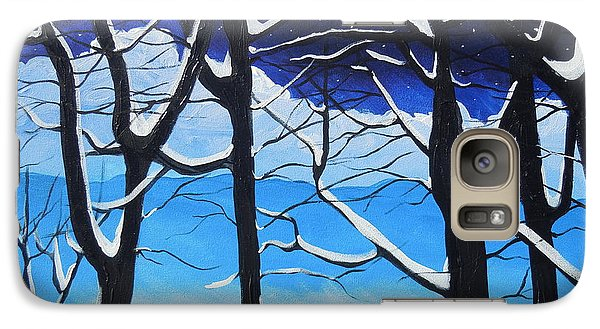 Galaxy Case featuring the painting Tis The Season by Dan Whittemore