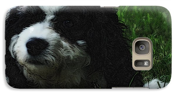 Galaxy Case featuring the photograph TLC by Lydia Holly