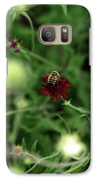 Galaxy Case featuring the photograph To Bee by Lorraine Devon Wilke