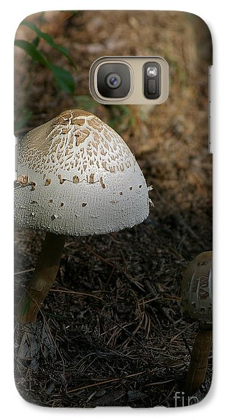 Galaxy Case featuring the photograph Toadstool by Tannis  Baldwin