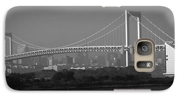 Tokyo Rainbow Bridge Galaxy Case by Naxart Studio