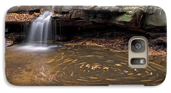 Galaxy Case featuring the photograph Tolliver Falls by Jeannette Hunt