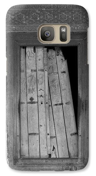 Galaxy Case featuring the photograph Tomb Door by David Pantuso