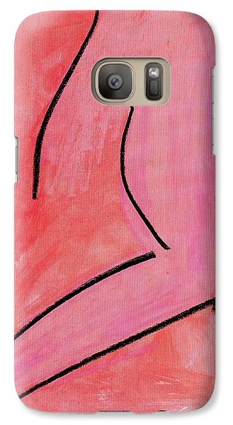 Galaxy Case featuring the painting Torso by Patrick Morgan