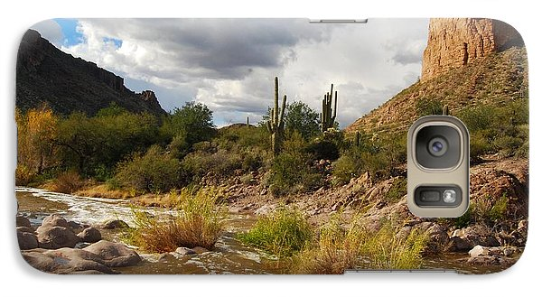 Galaxy Case featuring the photograph Tortilla Flat by Tam Ryan