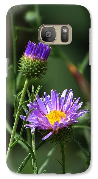 Galaxy Case featuring the photograph Touch Of Spring by Mistys DesertSerenity