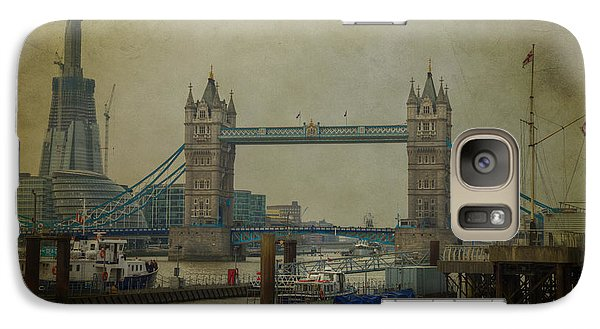 Tower Bridge. Galaxy S7 Case by Clare Bambers