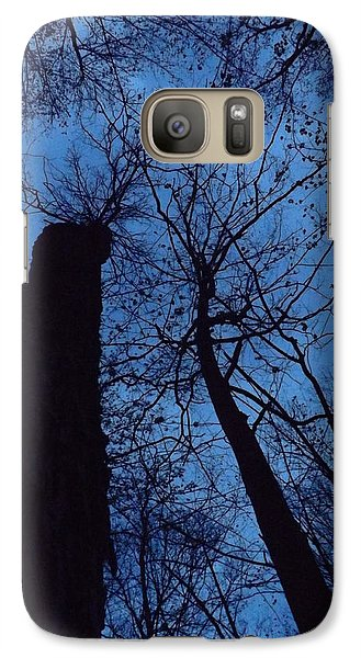 Galaxy Case featuring the photograph Towering Into The Night by Gerald Strine