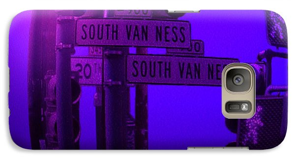 Galaxy Case featuring the photograph Traffic Stop by George Pedro