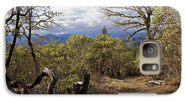 Galaxy Case featuring the photograph Trail At Cathedral Hills by Mick Anderson