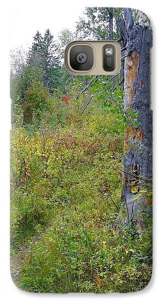 Galaxy Case featuring the photograph Trail Sign by Jim Sauchyn