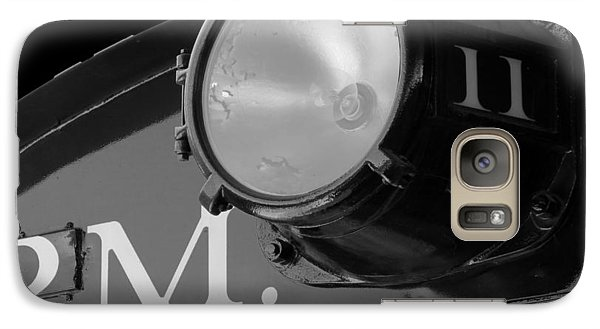 Galaxy Case featuring the photograph Train Headlight by Darleen Stry