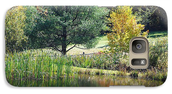 Galaxy Case featuring the photograph Tranquil by John Schneider