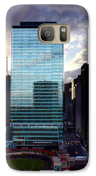 Galaxy Case featuring the photograph Transcanada Tower by JM Photography