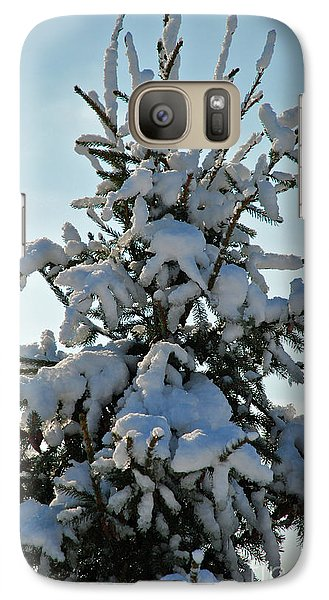 Galaxy Case featuring the photograph Tree Top by Mark Dodd