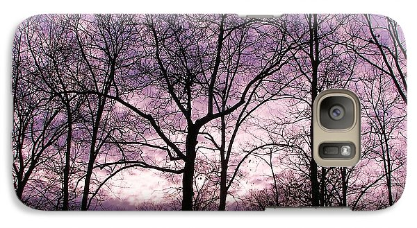 Galaxy Case featuring the photograph Trees In Glorious Calm by Pamela Hyde Wilson