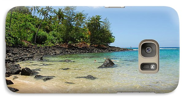 Galaxy Case featuring the photograph Tropical Paradise by Lynn Bauer