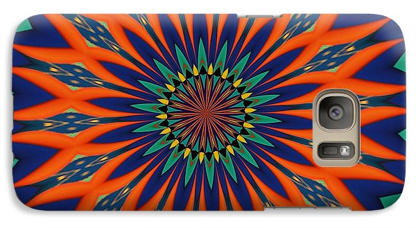 Galaxy Case featuring the digital art Tropical Punch by Alec Drake