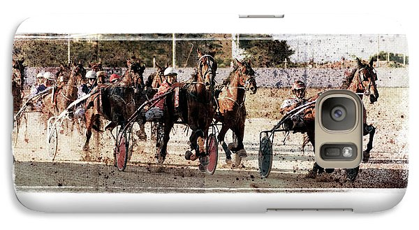Galaxy Case featuring the photograph Trotting 3 by Pedro Cardona