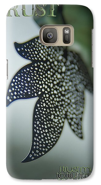 Galaxy Case featuring the photograph Trust To Trust by Vicki Ferrari Photography